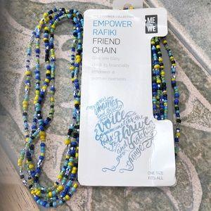 NWT 2 lots Twin Wrap Bracelets Chains, Multi Usage
